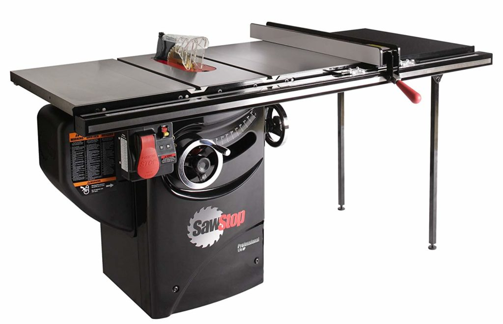 SawStop 1.75-HP Professional Cabinet Saw
