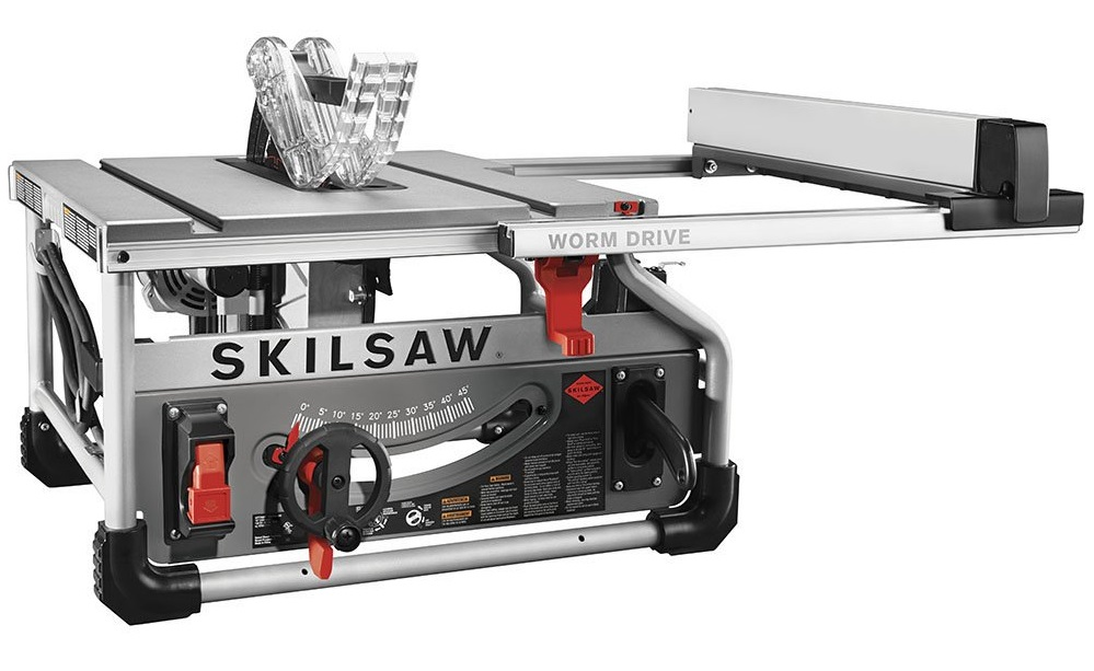 Skilsaw 10 Inch Portable Worm Drive Table Saw