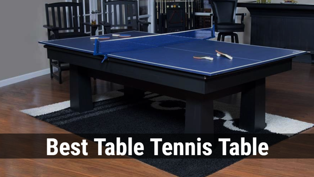 best ping pong table reviews table-review.com