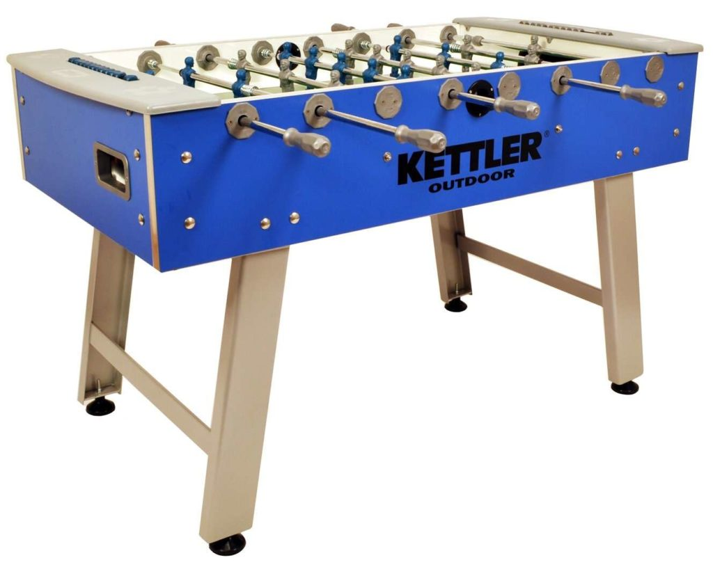 Kettler Weatherproof Indoor-Outdoor Foosball Table