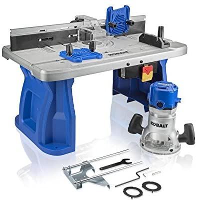 Kobalt Router Table