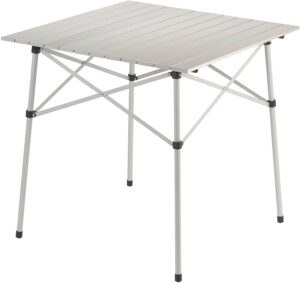 Coleman Camping Table with Aluminum Table Top