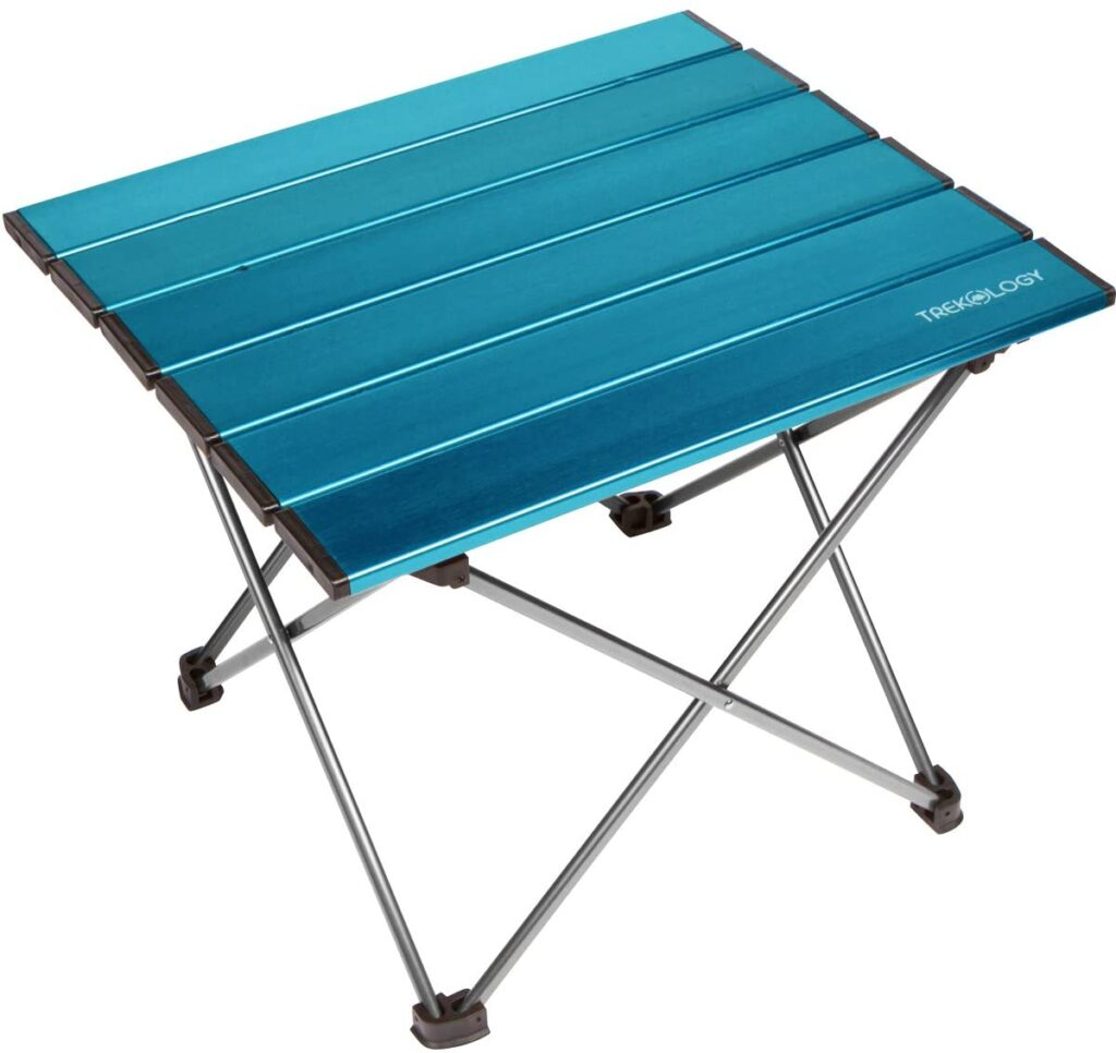 Trekology Camping Table with Aluminum Table Top